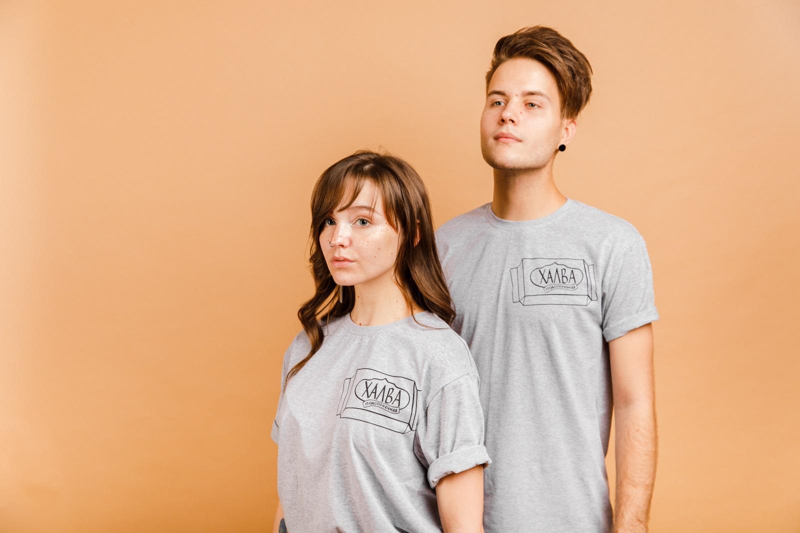 Серая меланж футболка нищее веган выживание, купить в интернет-магазине   vegansurvive.com