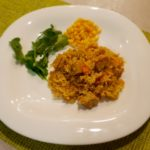 Curried rice with coconut milk and tofu - vegan recipe | vegansurvive