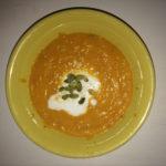 Тыквенный суп с кокосовым молоком и семечками | нищее веган выживание